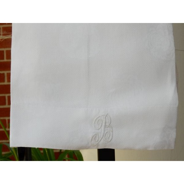 B Initialed Hand Towel