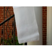 Soft Pink Initial D Hand Towel