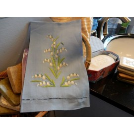 Lilly of the Valley Hand Towel
