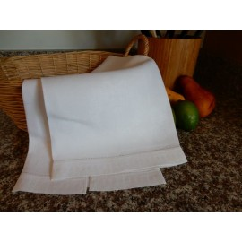 White Bow Hand Towel