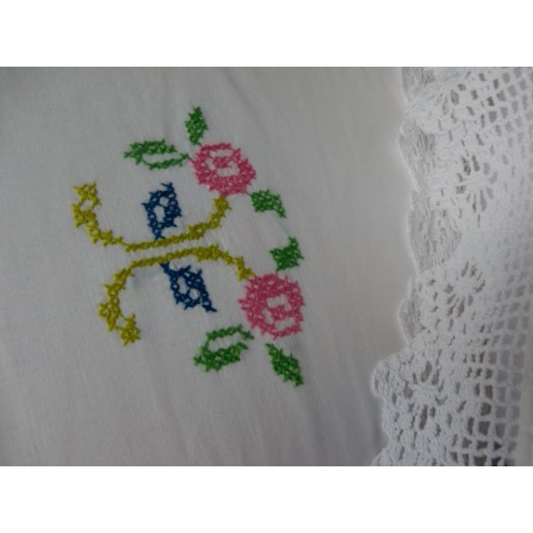 Cross-Stitch Pillow Case
